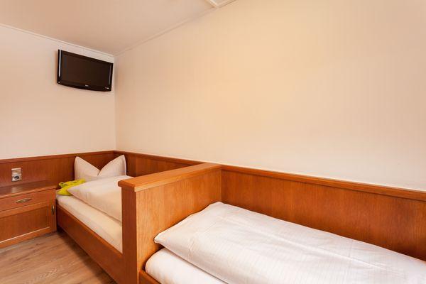Kinderzimmer der Junior Suite mit zwei Einzelbetten