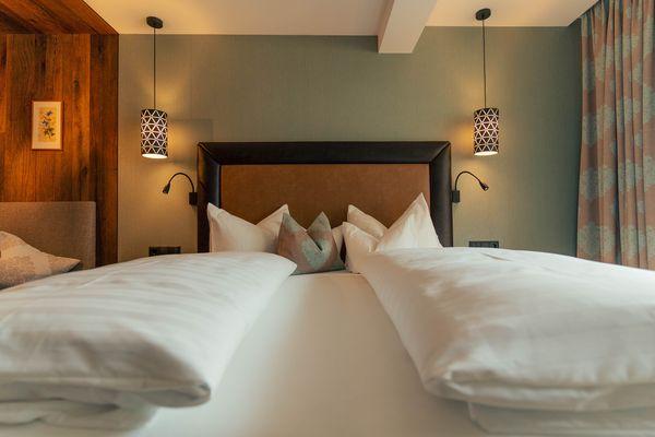 comfortable double room - Ferienhotel Sonnenhof
