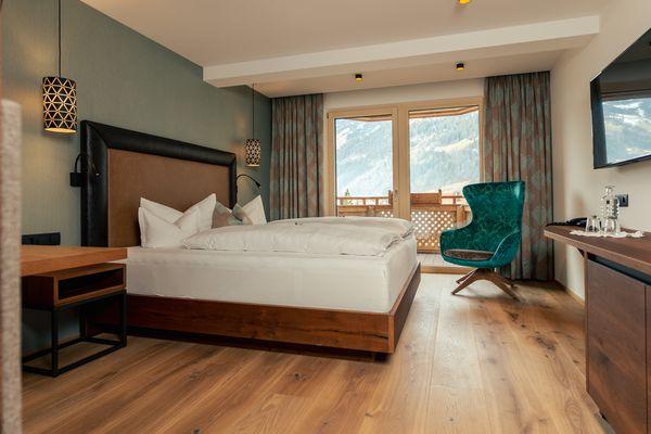 comfortable & modern double room Ferienhotel Sonnenhof ©Josef Martin Heim